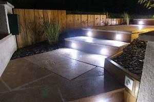 éclairage Escalier Extérieur : eclairage escalier exterieur ~ Premium-room.com Idées de Décoration