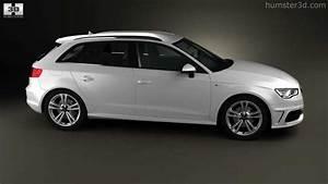 Audi A3 Sportback 2012 : audi a3 sportback s line 2013 by 3d model store youtube ~ Medecine-chirurgie-esthetiques.com Avis de Voitures