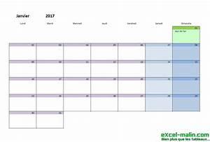 Calendrier Par Mois : calendrier mensuel excel modifiable et gratuit excel ~ Dallasstarsshop.com Idées de Décoration