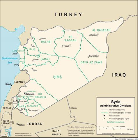 Ģeogrāfiskā karte - Sīrija - 1,504 x 1,528 Pikselis - 261 ...