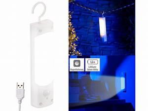 Solarlampen Mit Bewegungsmelder Und Akku : lunartec usb leuchte 4in1 akku led lampe mit ~ A.2002-acura-tl-radio.info Haus und Dekorationen
