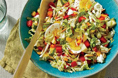 recipes for chopped recipe of the day chopped salad huffpost