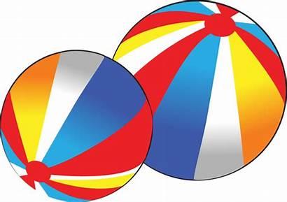 Clip Ball Balls Beach Clipart Testicle Cliparts