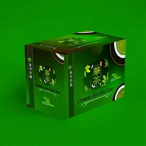 Japanese green decocted tea packaging for Warpstyle ...