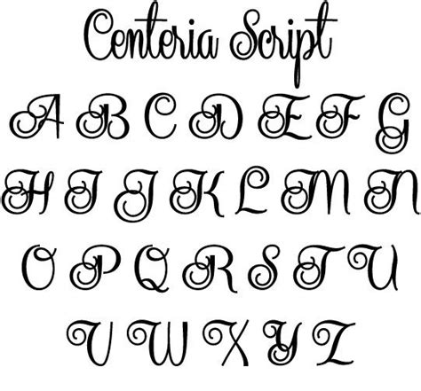 different lettering styles fonts lettering style script script styles 2 five different fonts in this 64340