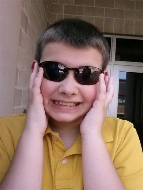 Alex Enjoying My Sunglasses