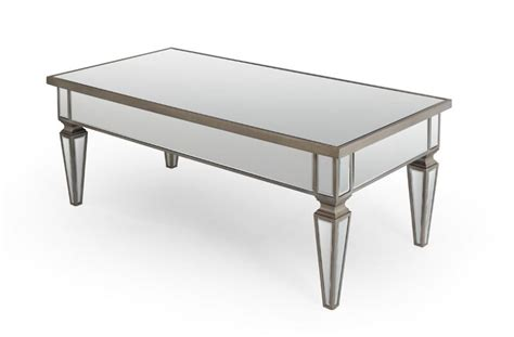 Mirrored Coffee Table Models  Home Decorations