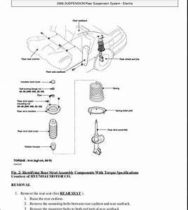 2003 Hyundai Elantra Rear Brakes Diagram