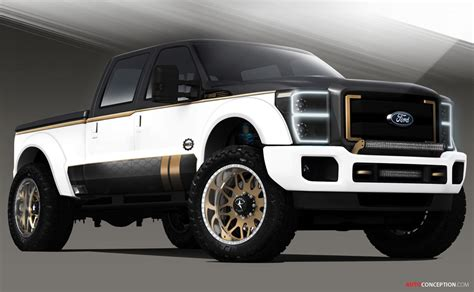 concept truck customised ford pickup trucks join list of 2013 sema show
