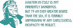 Quotes about Fl... Famous Flight Safety Quotes