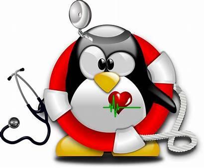 Emergency Tux Paramedic Clipart Cliparts Linux Clip