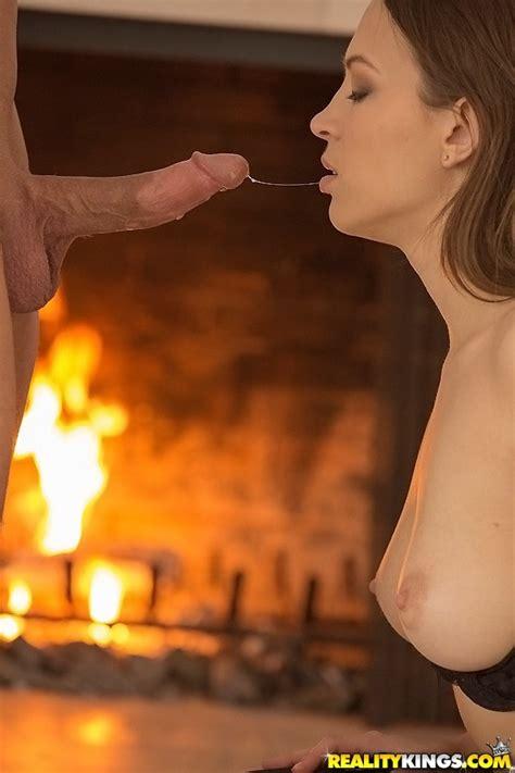 Romantic Babe Likes To Suck Cock MILF Fox