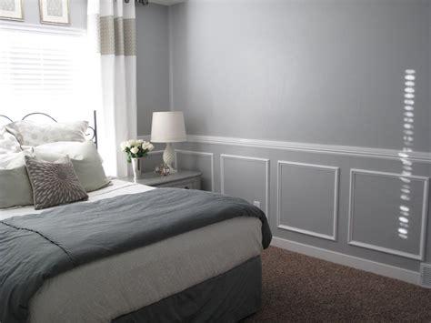 wall trim  chair rail easy room remodel