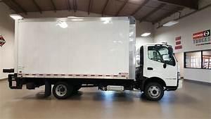 Hino 195 Cab Over 16ft Box Truck   Hino  Box  Truck