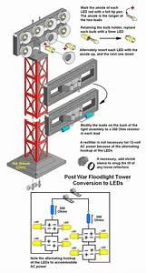 Flood Light Wiring Diagram : floodlight tower led conversion o gauge railroading on ~ A.2002-acura-tl-radio.info Haus und Dekorationen