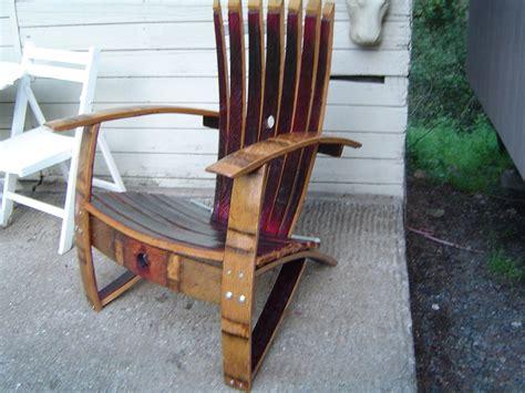 woodwork wine barrel adirondack chair plans   plans