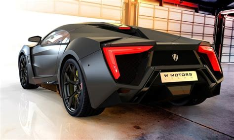 2014 W Motors Lykan Hypersport in 40+ Amazing New Wallpapers, Including MegaLux Interior