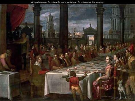 il banchetto dei talendyr stare  tavola nel medioevo