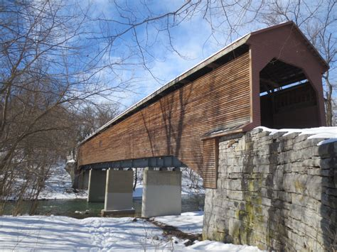 bridgehuntercom meems bottom covered bridge