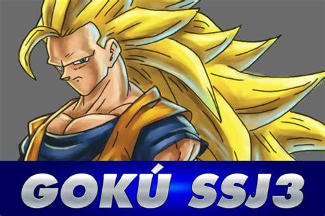 Cmo Dibujar A Gok Ssj3 Dbz Dragon Ball Z How To Draw