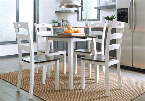 White Dining Table And Chairs For Sale by Woodanville 5pc Dining Set Louisville Overstock