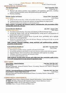 cover letter for bloomberg - cindy missaoui finance resume