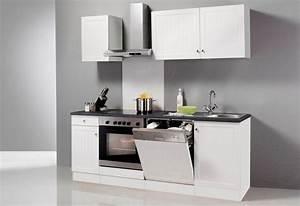 Küche Günstig Kaufen Mit Elektrogeräten : optifit k chenzeile mit e ger ten bornholm breite 210 cm ~ Watch28wear.com Haus und Dekorationen