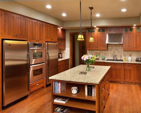 craftsman kitchen lighting craftsman kitchen with inspiring cherry 2987