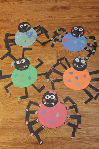 preschool spider art our crafts n things 187 391