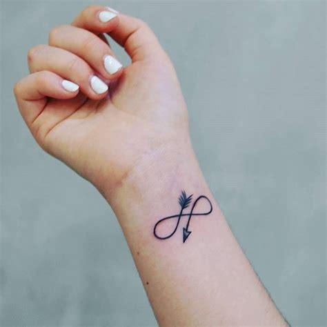 Small Infinity Arrow Tattoo