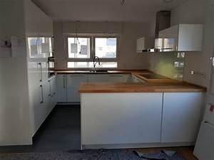 Ikea Küche Metod : die fertige 9 5m k che mit 11cm sockel ikea diy ~ Eleganceandgraceweddings.com Haus und Dekorationen