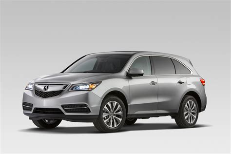 Acura Vehicles by Family Vehicle Review 2015 Acura Mdx Suv Mocha