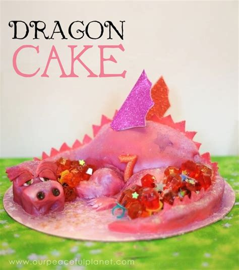 dragon cake  visual diy