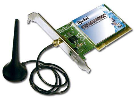 Adaptateur Pci Sans Fil 802.11g 54 Mbps