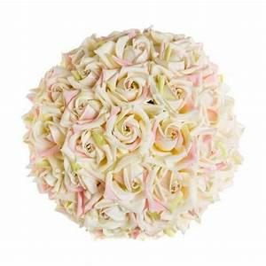 Boule De Rose : boule de roses artificielles 25 cm facile location r ception f l r ~ Teatrodelosmanantiales.com Idées de Décoration