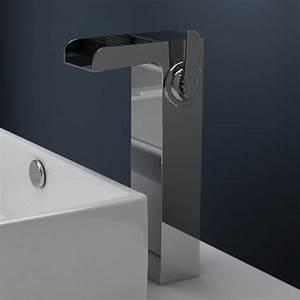 Robinet Lavabo Cascade : robinet mitigeur lavabo sur lev cascade ~ Edinachiropracticcenter.com Idées de Décoration