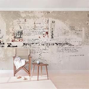 Tapete In Betonoptik : tapeten ratgeber wall art in xxl magazin ~ Markanthonyermac.com Haus und Dekorationen