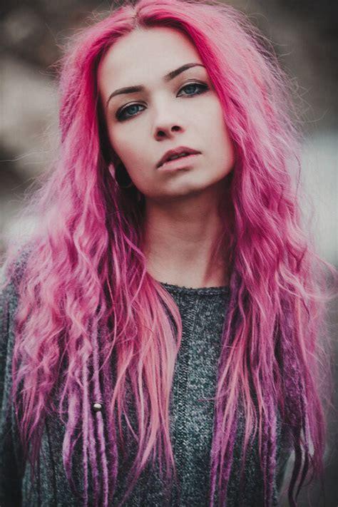 girls  colored hair  tumblr