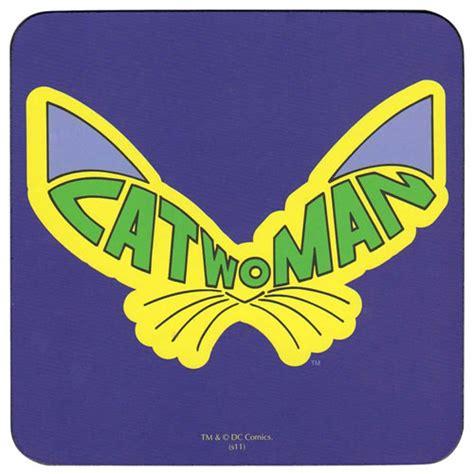 Catwoman Logo Coaster, Official DC Comics Batman