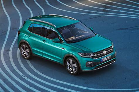Volkswagen Car : New Volkswagen T-cross Unveiled