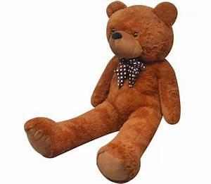 Teddybär Xxl Günstig : xxl weicher pl sch teddyb r braun 175 cm g nstig kaufen ~ Orissabook.com Haus und Dekorationen