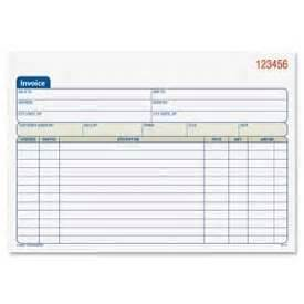 paper stationery notebooks pads adamsr invoice With invoice pads staples