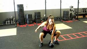 Team CrossFit - one arm db thruster - YouTube