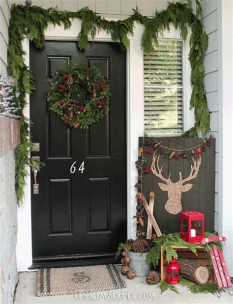 christmas front porches ideas   holidays