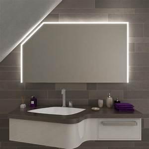 Spiegel Mit Schräge : azrim led badspiegel mit dachschr ge online kaufen ~ Michelbontemps.com Haus und Dekorationen