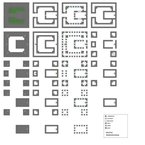 minecraft blueprints layer  layer minecraft castle blueprints minecraft pinterest