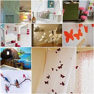 20 cool diy ideas to turn your kids bedroom into fairytale With diy decorations for your bedroom