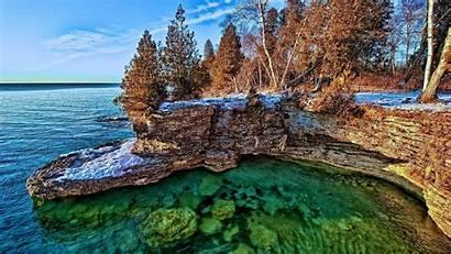 Michigan Lake Wallpapers Wolverines Scenery Desktop Background