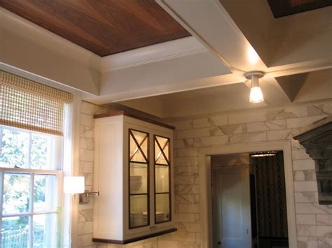 coffered ceilings   kitchen    shouldnt
