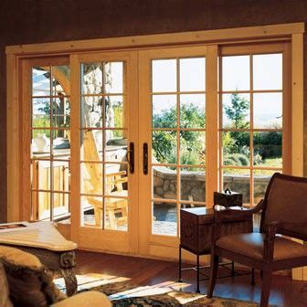 triple patio doors images  pinterest french